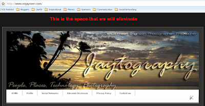 how to remove the blogger navbar and extra space, how to remove blogger navbar