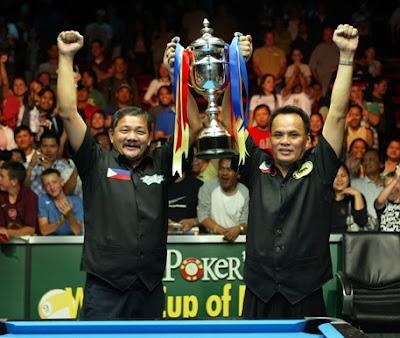 World Cup of Pool 2009, Championship, Efren Bata Reyes, Francisco Django Bustamante, Billiards