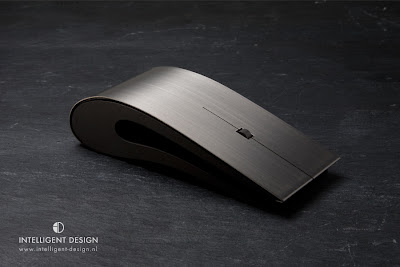 Titanium ID mouse, $1200 price mouse, Expensive mouse made of Titanium