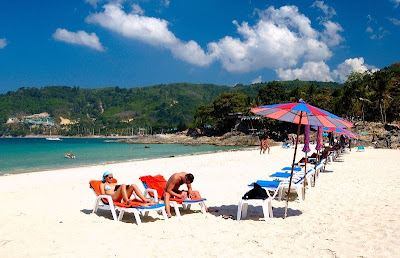 Kata White Beach, Phuket Thailand, Land of the Free, Ibis Kata Phuket Hotel Accommodations