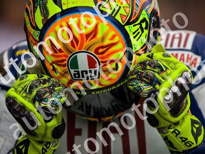 Valentino Rossi Helmet Andrew Wheeler AutoMotoPhoto MotoGP VR46 Rossi