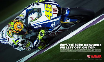 Valentino Rossi Andrew Wheeler Automotophoto Qatar MotoGP winner