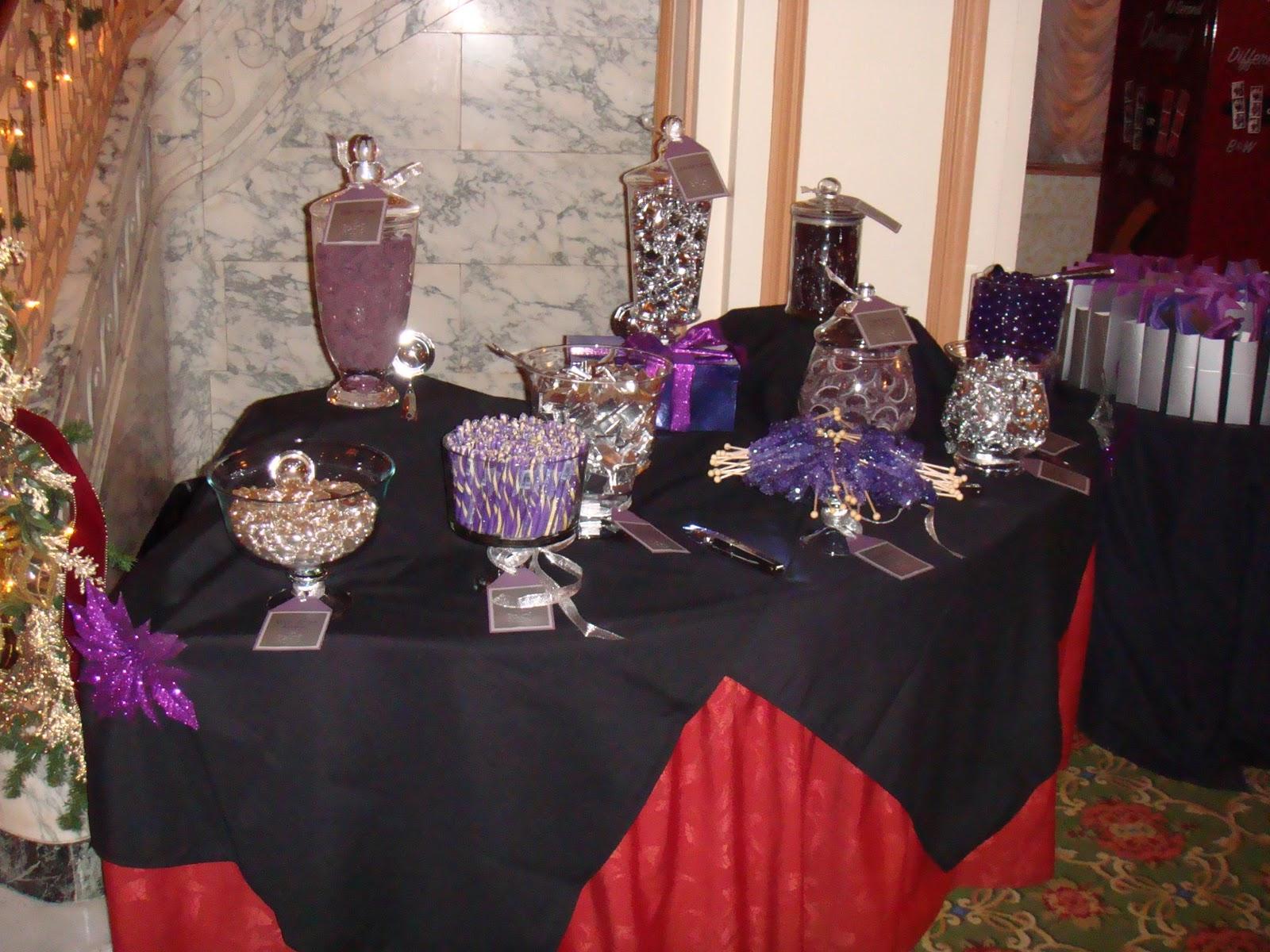 Wedding Reception Candy Buffet Ideas Wedding Reception
