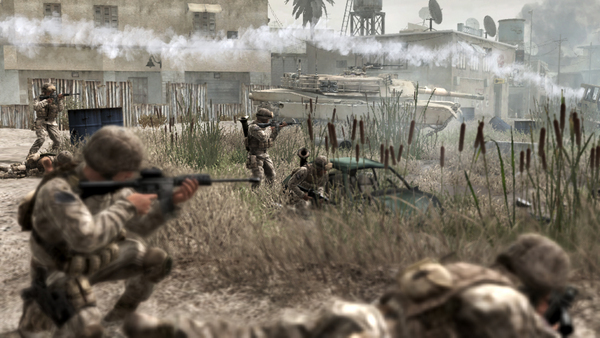 call of duty 8 future warfare.