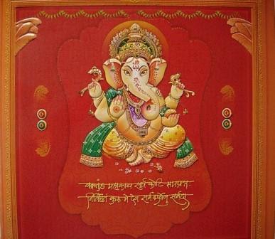 Namaste world wedding invitations stopboris Gallery