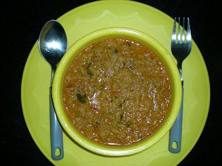 Soya Chunks kaima gravy