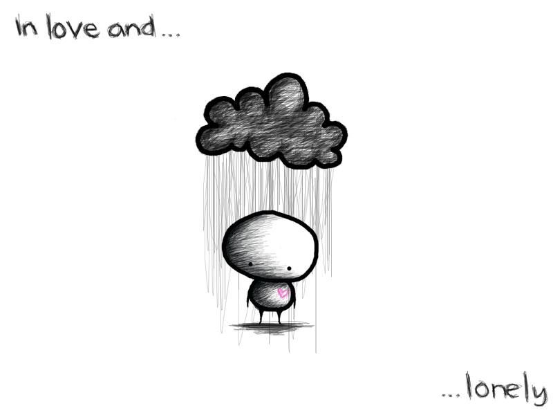 In Love And Lonely. mereka seperti berkata,quot;Ih