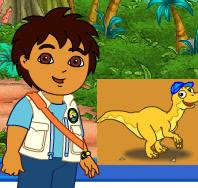 Dora and Diego DinoCare