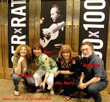Agustín, Ana, Rosi, Elena de ST