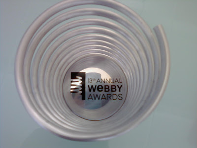webby awards. the webby awards. at the