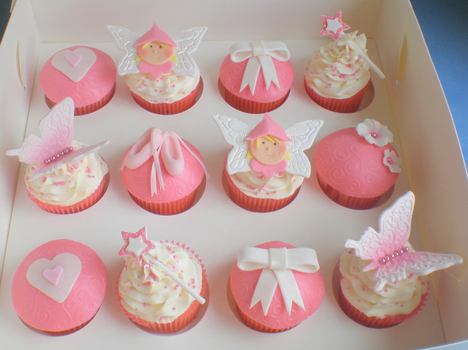 Cute Girly Cupcakes