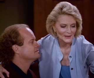 Frasier and Clarise (Constance Towers) reunite