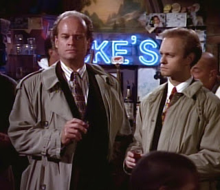 Frasier and Niles at Duke's