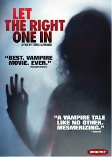 LET THE RIGHT ONE IN cover and Amazon link