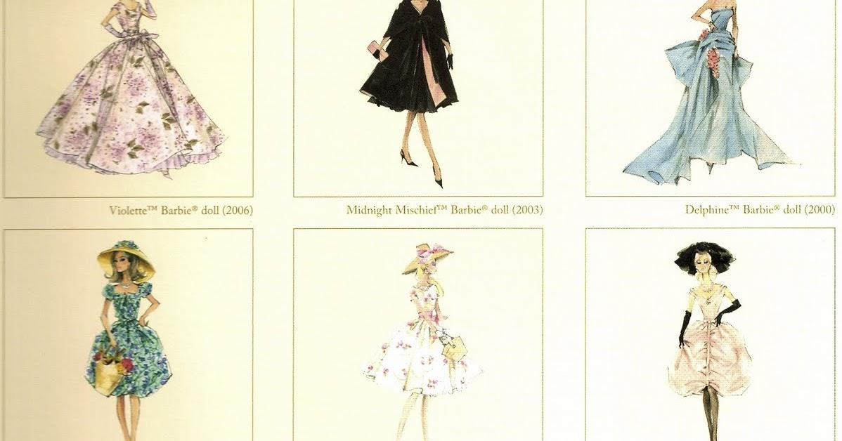 One Haute Kid Win A Set Of Vintage Barbie Fashion Prints