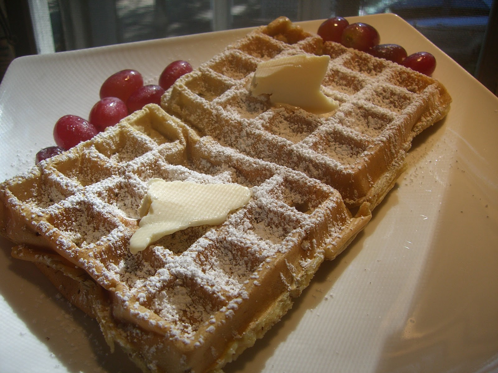 ... Trial and Error Approach: Banana Nut Waffles - Veganomicon - p. 75-76