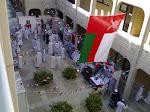 صورة لأفراح كلية الاادب بالعيد الوطني 38
