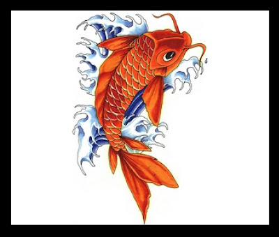 koi tattoos,catfish tattoos,creature tattoos,seacreature tattoos,water tattoos,waves tattoos,fish tattoos,fins tattoos,japanese tattoos,oriental tattoos,asian tattoos
