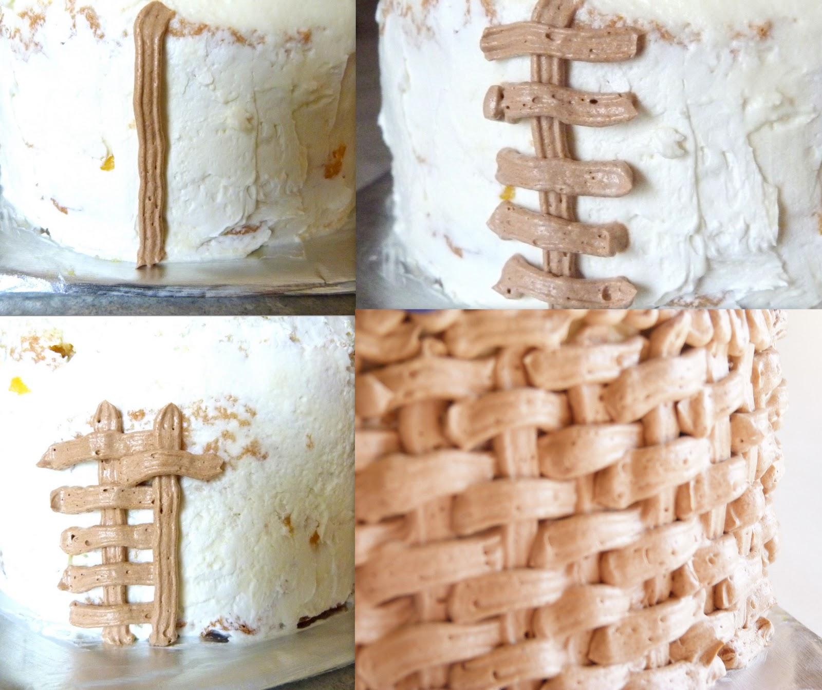 Украшение торта кремом из шприца рецепт
