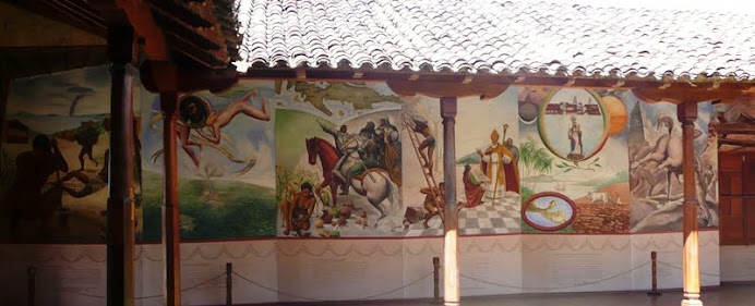 Mural in the monastery