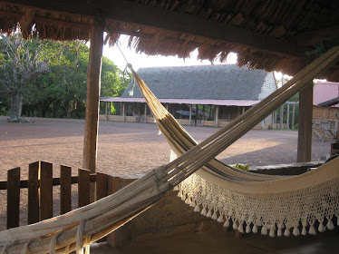 Hammocks in the main house