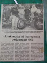 raya kat rumah ustad Ahmad Awang