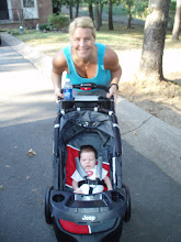 First walk with Mommy!