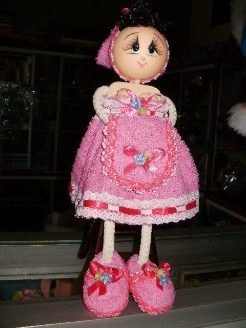 Muñecas de toalla - Imagui