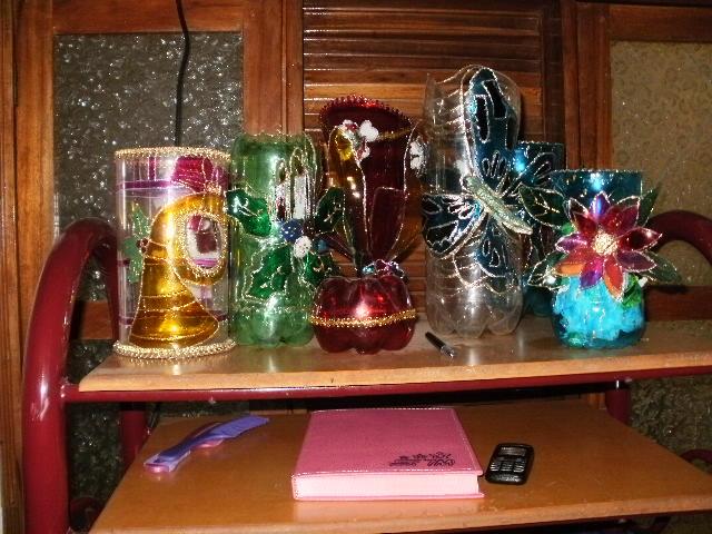 Set De Baño Reciclado:CREACIONES LEIDY: NUESTROS PRODUCTOS