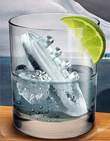 Eiswürfelform Titanic - im Set im Eisbergform