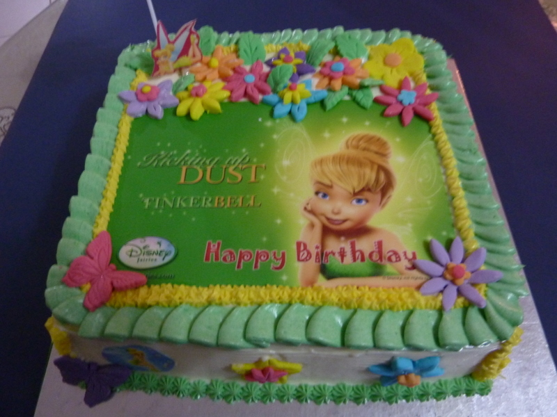 Yasmin Zhuo Story Book My 1st Cake Baking Experience Tinkerbell