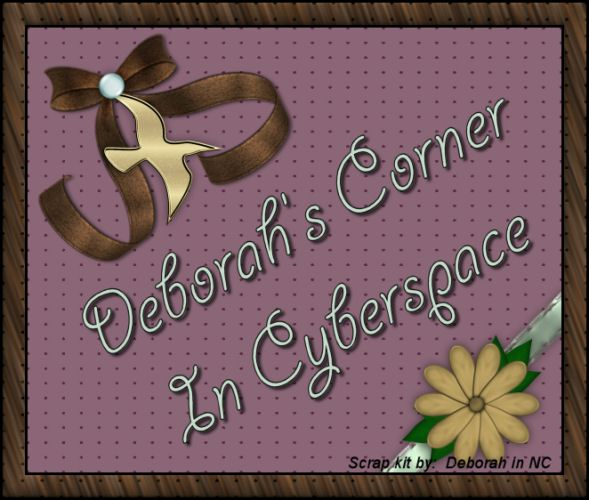 Deborahs Corner In Cyberspace