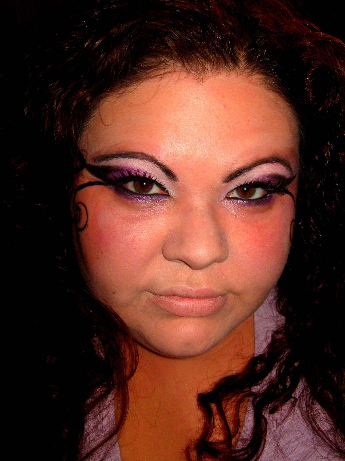 Simply kendra easy and simple purple fairy makeup tutorial easy and simple purple fairy makeup tutorial baditri Image collections