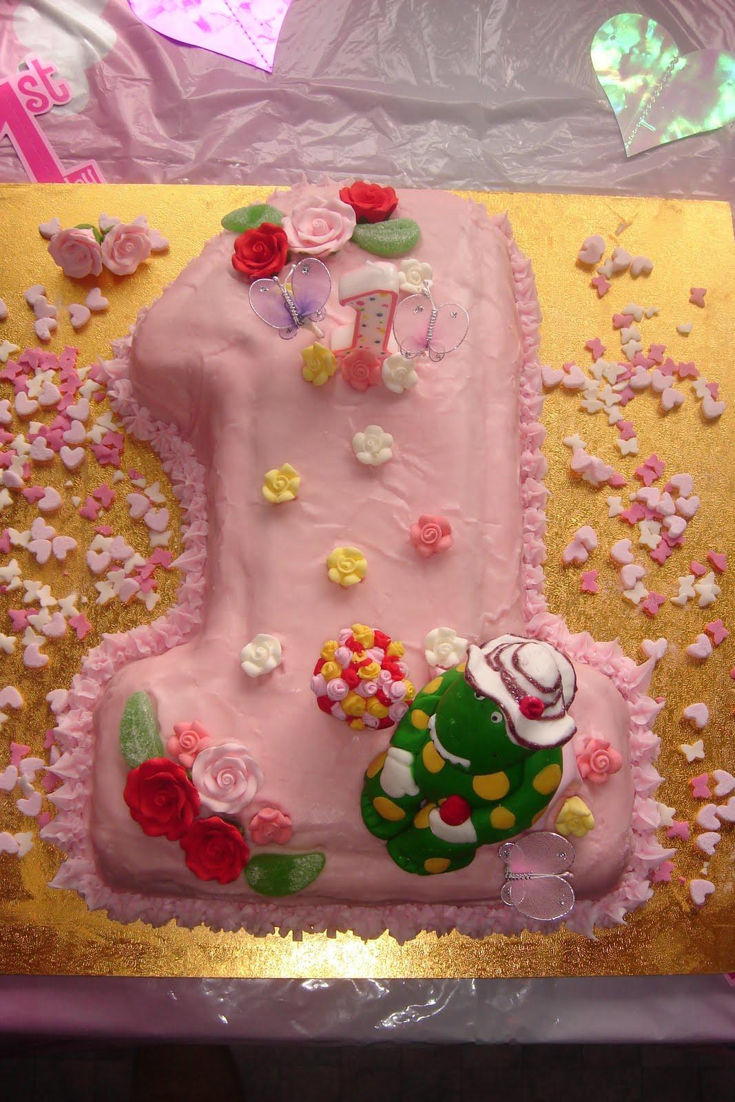 Blissfully Sweet Dorothy The Dinosaur Rose Pot Toppers