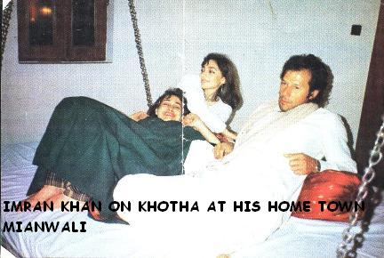 Imran Khan at KHOTHA in Mianwali