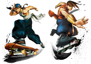 Yun & Yang from video game Super Street Fighter IV Arcade Edition