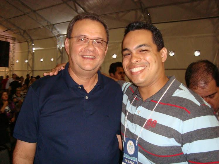 Eu e o Pr Samuel Câmara