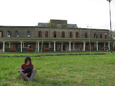 camila lee en el pasto