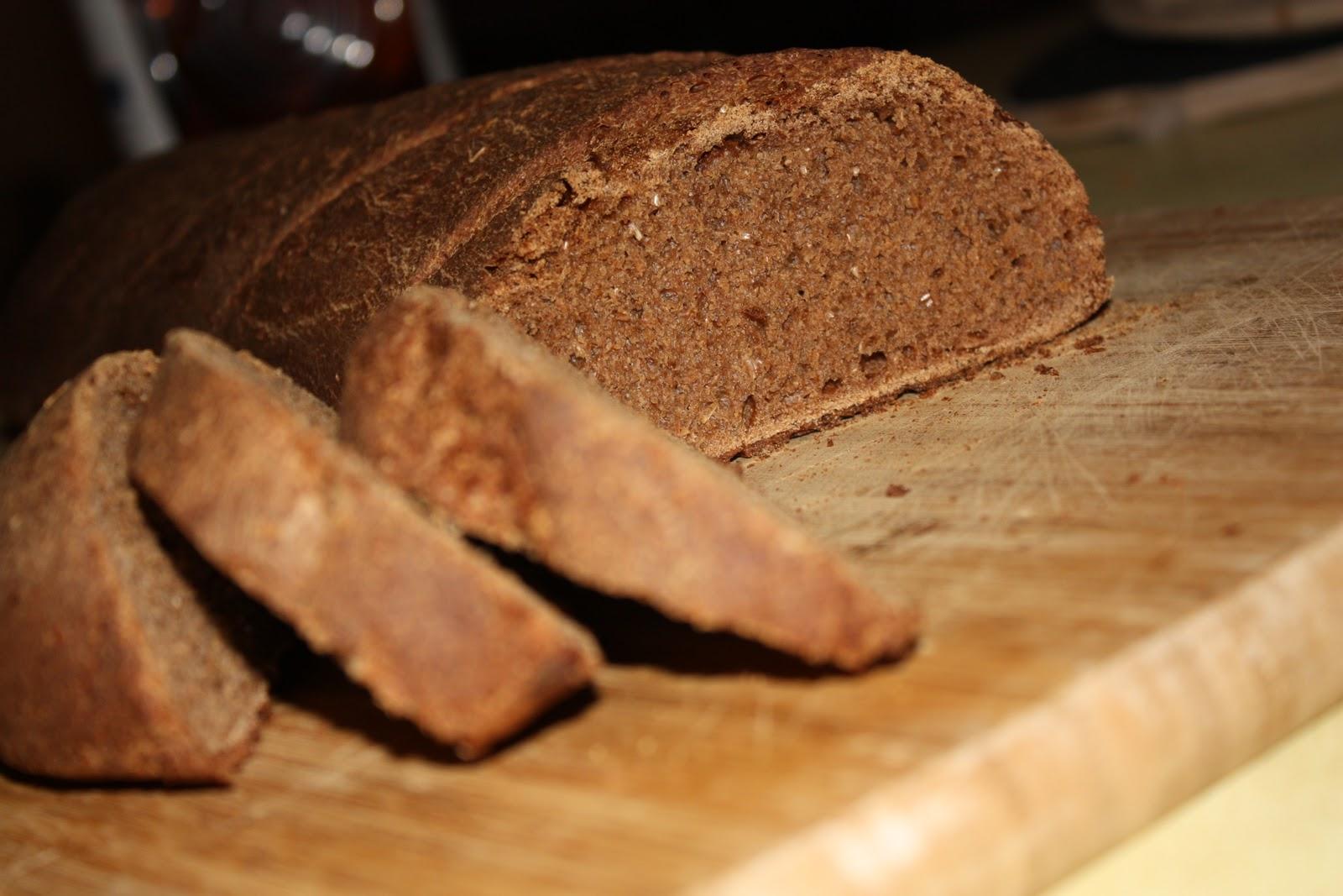 Как сделать черный хлеб