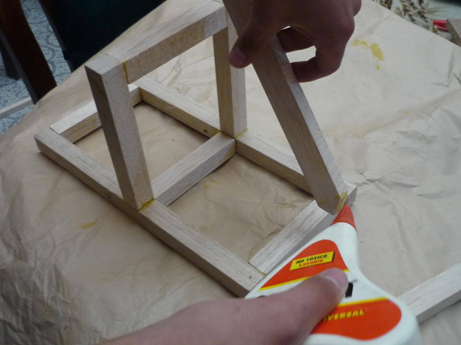 Como hacer una catapulta for Como hacer una terraza techada