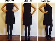 PEÇA: Vestido preto sem manga. MARCA: Request (dsc )