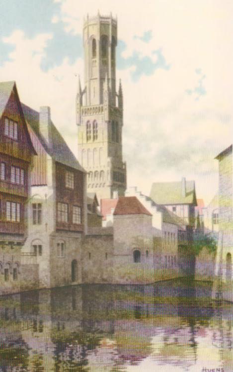 Het belfort te Brugge