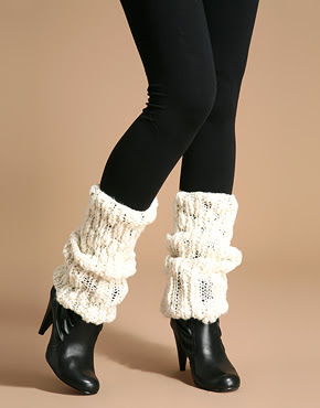 Pick A Sexy Knit Thick Leg Warmer Long Thigh High Hosiery