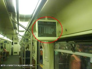 Windows Fail, dessa vez no metrô
