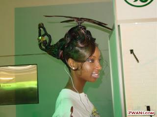 Penteado de helicoptero bem loco...