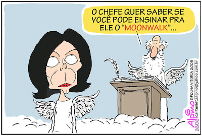 Charge: Michael Jackson / Deus - MoonWalk