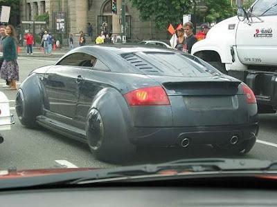 Audi TT do filme Eu Robô encontrado na rua!