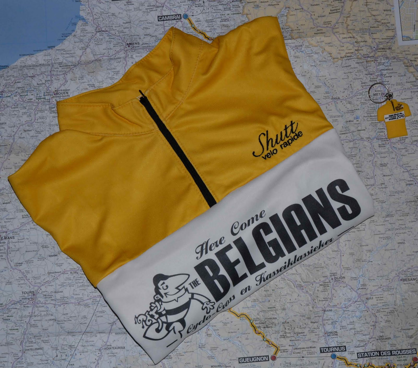 Team here come the belgians here come the belgians style for Craft beer cycling jerseys