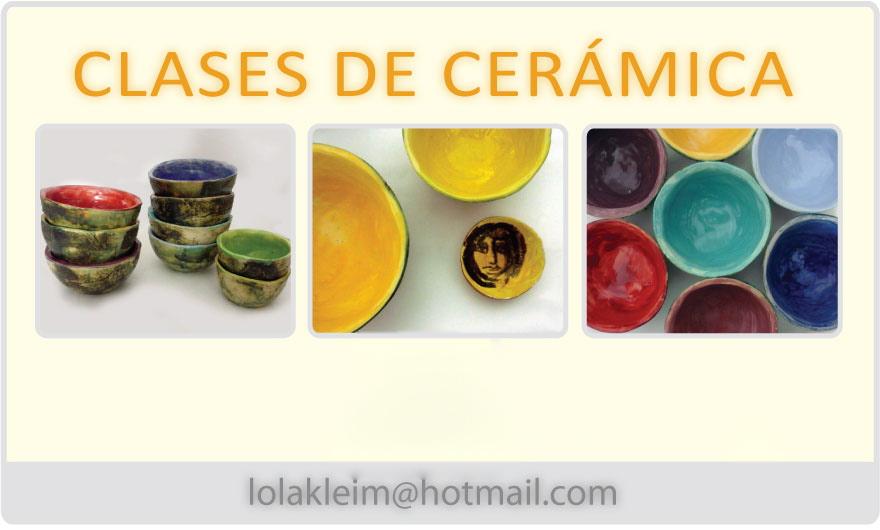 Ceramicas Garcia Clases De Ceramica