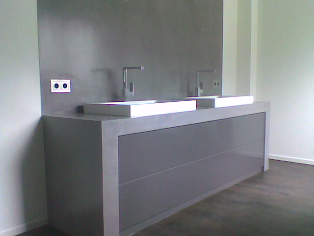Beton Waschtisch Bad Pinterest With Badezimmer Betonoptik